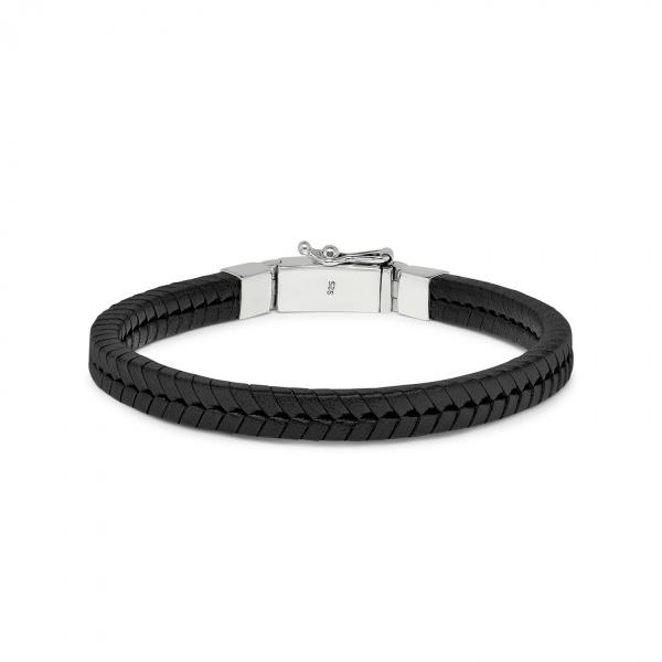 275BLK Bracelet Black CHEVRON Collection