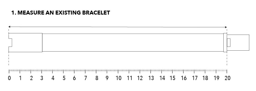HOW DO I MEASURE MY BRACELET SIZE